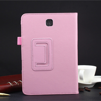 For Samsung Galaxy Tab S2 9.7 T810 T815 2 Folding Flip Stand Tablet Leather Case Cover for Samsung Tab S2 9.7 T810 T815