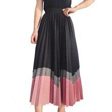 Style longue Patchwork laine