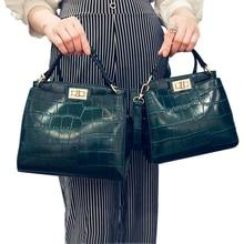 crossbody bags for women New Korean women bag crocodile leather mini cat shoulder bag handbag sac a main femme de marque