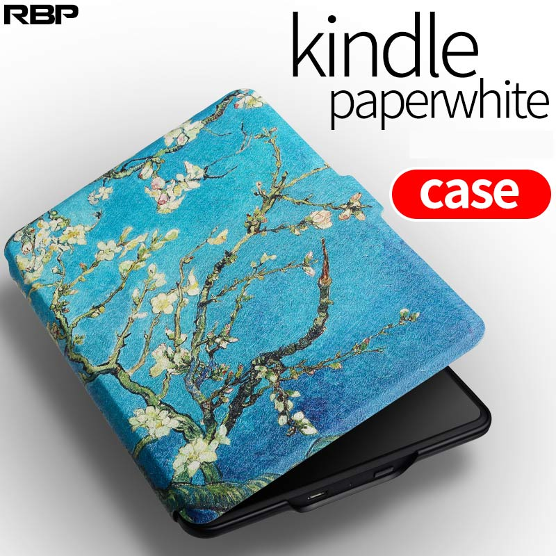 RBP for Amazon kindle protective case for paperwhite1 2 3 E-book 958/899  shell for kindle paperwhite cover Painted pattern case for amazon kindle paperwhite e book leather case print slim smart ebook cover for kindle paperwhite 3 e reader protective stand