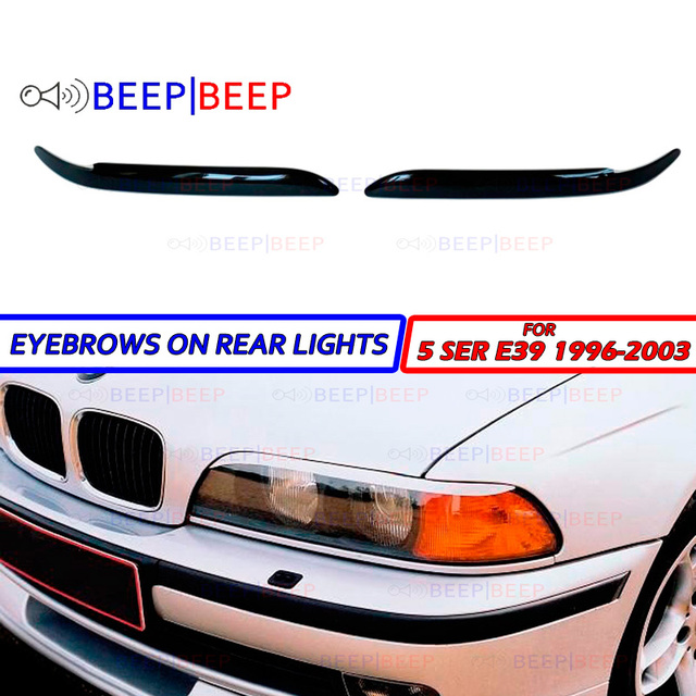 Eyebrows For Bmw 5 Series E39 1996 2003 On Headlights Cilia Eyelash