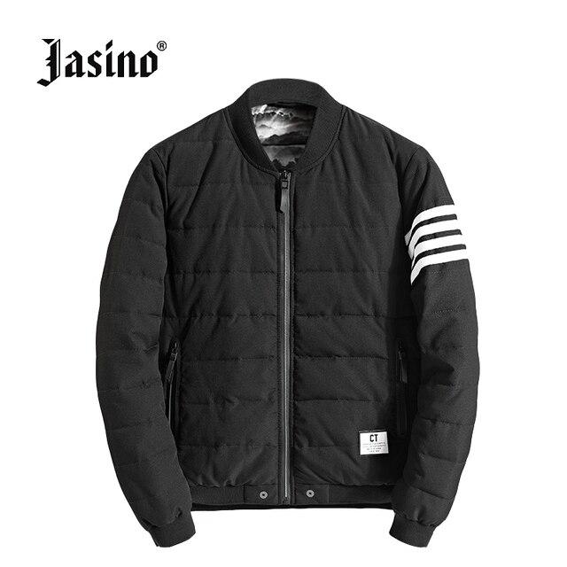 Jasino brand british casual men winter warm coats quilted jackets ... : winter quilted coats - Adamdwight.com