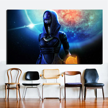 Mass Effect 2 Tali HD Canvas Posters Prints Wall Art Oil Painting Decorative Picture Bedroom Modern Home Decoration Accessories