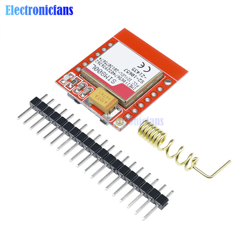 Mini Smallest SIM800L GPRS GSM Module MicroSIM Card Core Wireless Board Quad-band TTL Serial Port With Antenna For Arduino