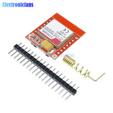 Mini Smallest SIM800L GPRS GSM Module MicroSIM Card Core Wireless Board Quad band TTL Serial Port With Antenna for Arduino