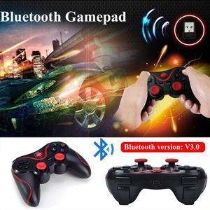 Image 4 - T3 Bluetooth Kablosuz Gamepad S600 STB S3VR Oyun Denetleyicisi Joystick Için Android IOS Cep Telefonları PC USB kablosu Kullanım Kılavuzu