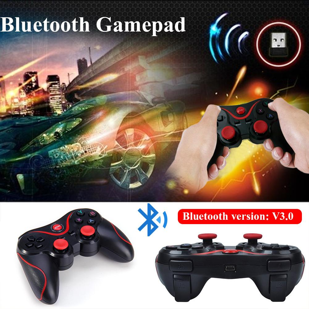 Image 4 - T3 Bluetooth Wireless Gamepad S600 STB S3VR Game Controller Joystick For Android IOS Mobile Phones PC USB Cable User Manual-in Gamepads from Consumer Electronics