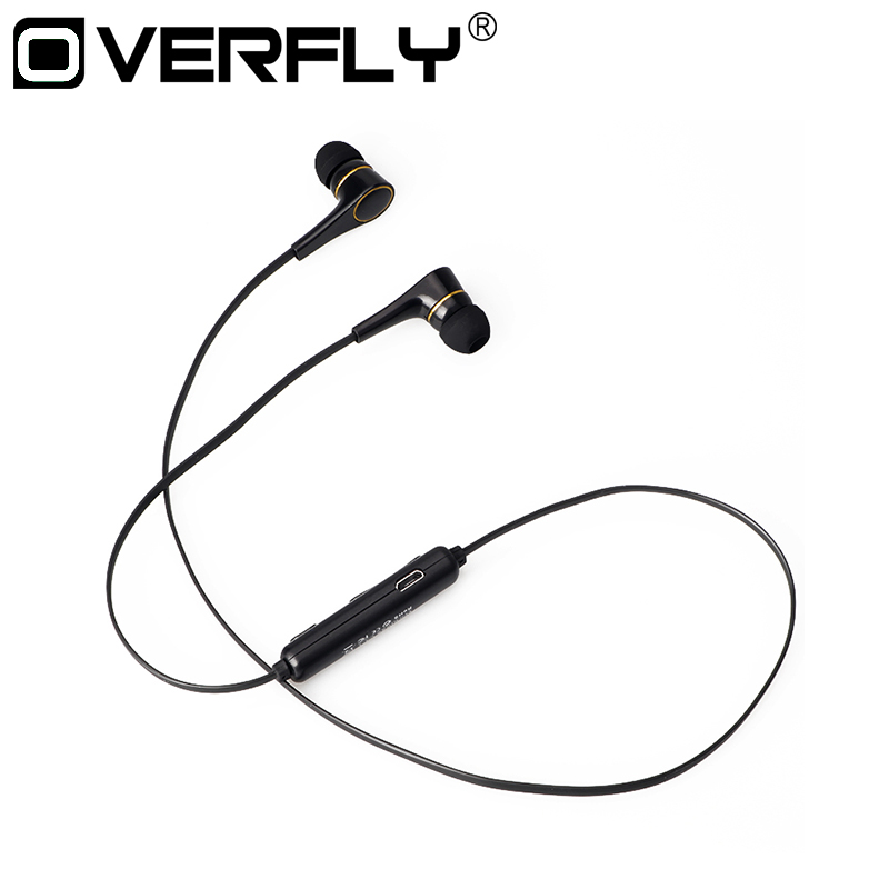 Overfly Wireless Stereo Headsets Sports Bluetooth Headphones Running Earphones with Microphones Earbuds for iPhone Samsung m320 metal bass in ear stereo earphones headphones headset earbuds with microphone for iphone samsung xiaomi huawei htc