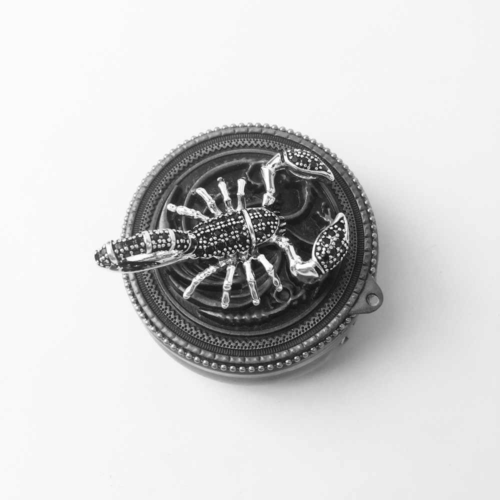 Подвески в виде скорпиона, лошади, дракона, модные ювелирные изделия, 925 пробы, серебряный, панк, подарок для женщин, мужчин, мальчиков, девочек, ожерелье