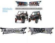 OEM Left & Right Hand LED Farol Kit 2014-2016 Polaris RZR XP 1000 2015-2016 TURBO ATV UTV RZR 900 2016 RZR XP LEVOU LUZ LÂMPADA