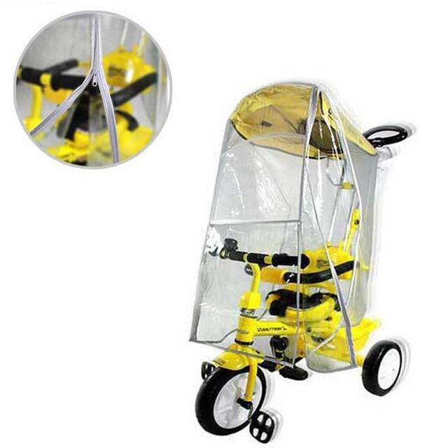 Alta Calidad Del Cochecito de Bebé Cochecito de Polvo Cubierta Para la Lluvia Cubierta Impermeable Universal Parabrisas Accesorios F3