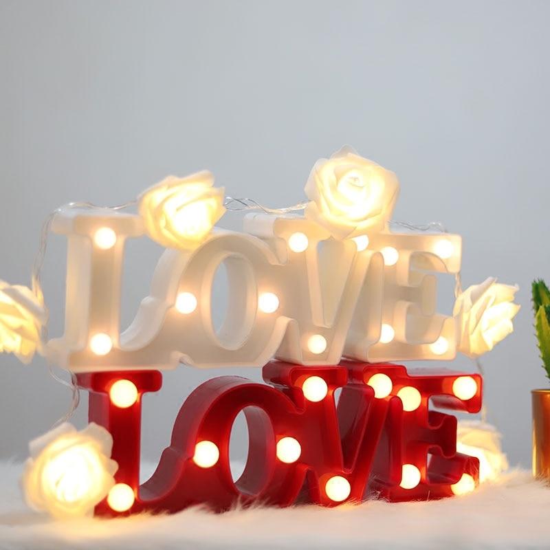 Luzes da Noite de cabeceira decorações da festa Bateria : aa
