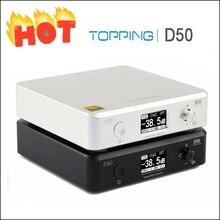 Топпинг D50 Hifi аудио ЦАП усилители домашние декодер ES9038Q2M XMOS XU208 USB усилитель DAC DSD512 оптический Caoxial вход 32Bit/768 кГц