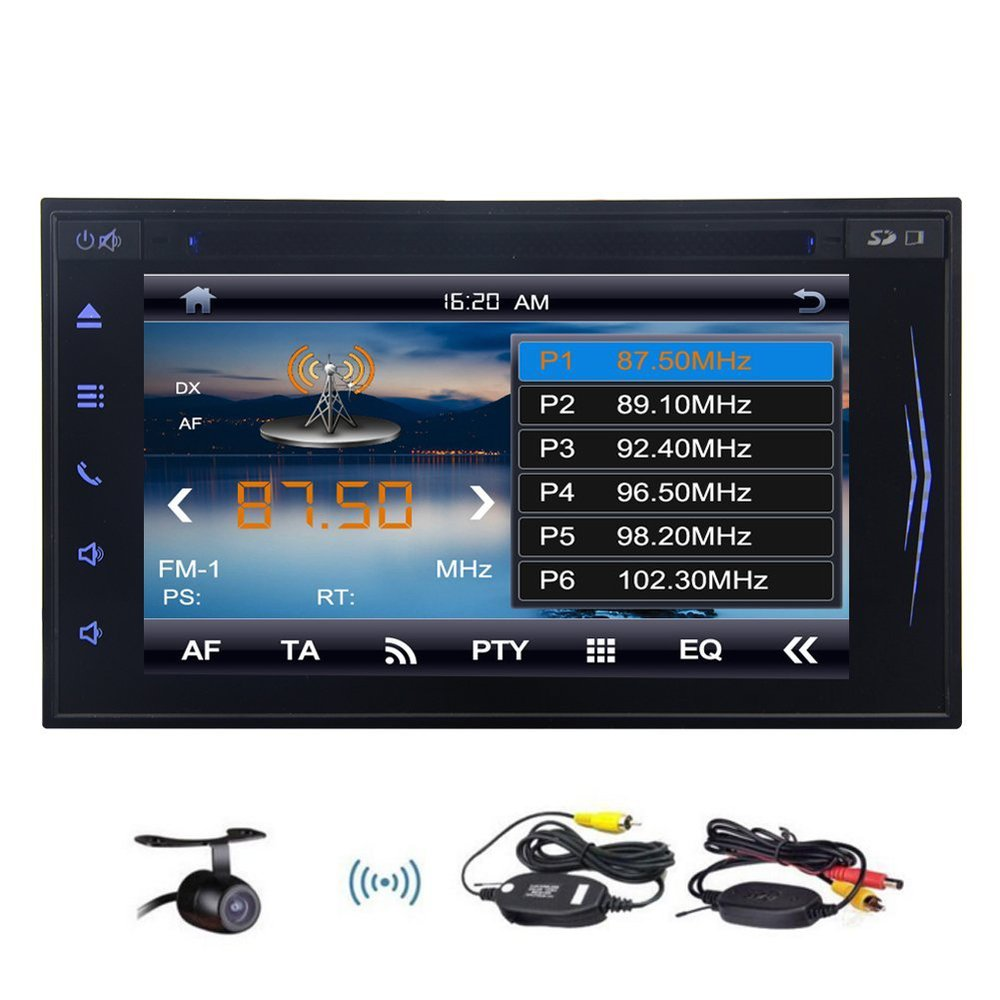New arrival! 6.2 Car DVD Player Tablet FM MP3 Bluetooth Hands free calling Car Stereo AV Receiver Radio For Universial Car