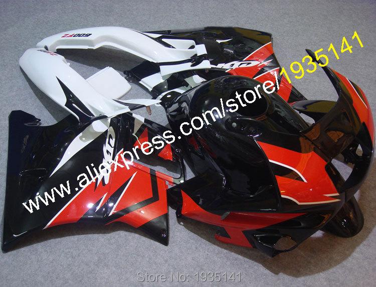 Горячие продаж,для Honda CBR600 ЦБ РФ 600 Ф2 Ф2 1991 1992 1993 1994 91 92 93 94 CBR600 красный черный белый Подгонянный ABS Мото обтекатель комплект