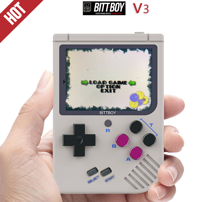 BittBoy V3, Game console, Handheld game players, Console retro,Retro Video Game, CFW Installed, Load more games from SD card