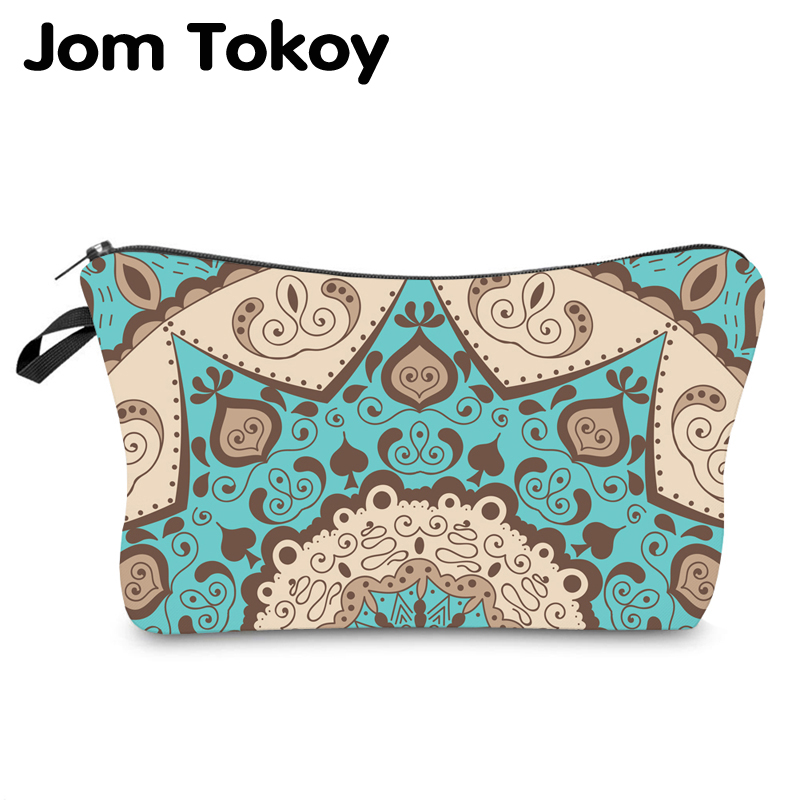Jom Tokoy Water Resistant Makeup Bag Printing Mandala Cosmetic Bag Organizer Bag Women Multifunction Beauty Bag Hzb977