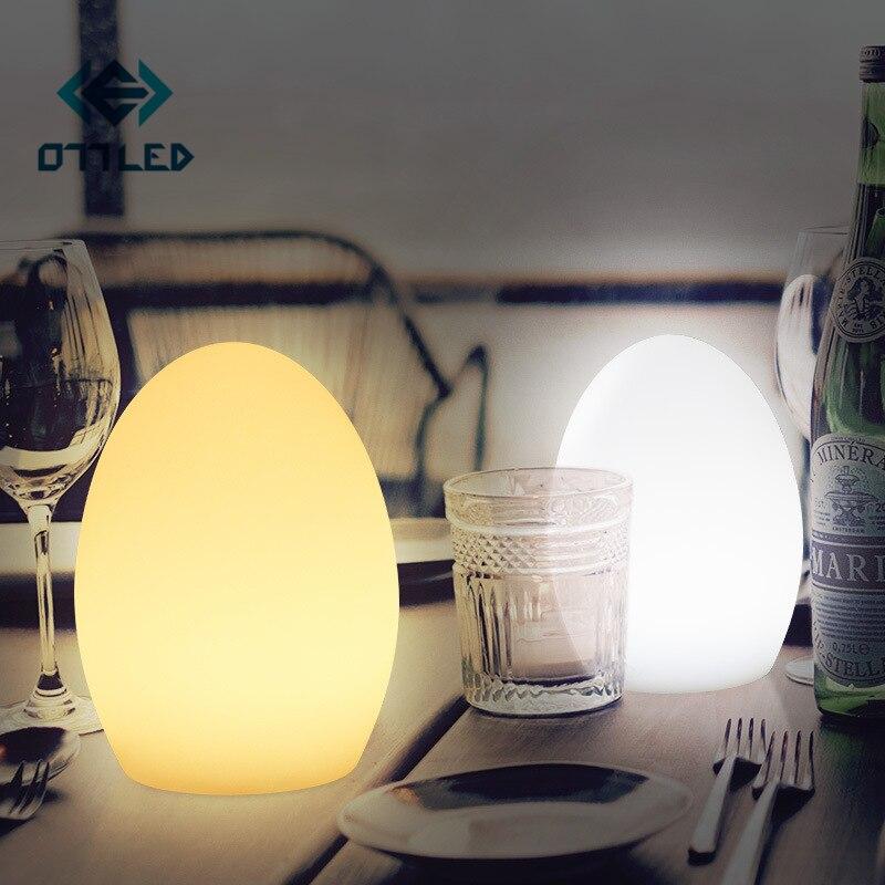 16 Kleur Rgbw Led Nachtlampje Usb Oplaad Bar Tafellamp Verlichte Bal Afstandsbediening Restaurant Hotel Nachtkastje Decoratie
