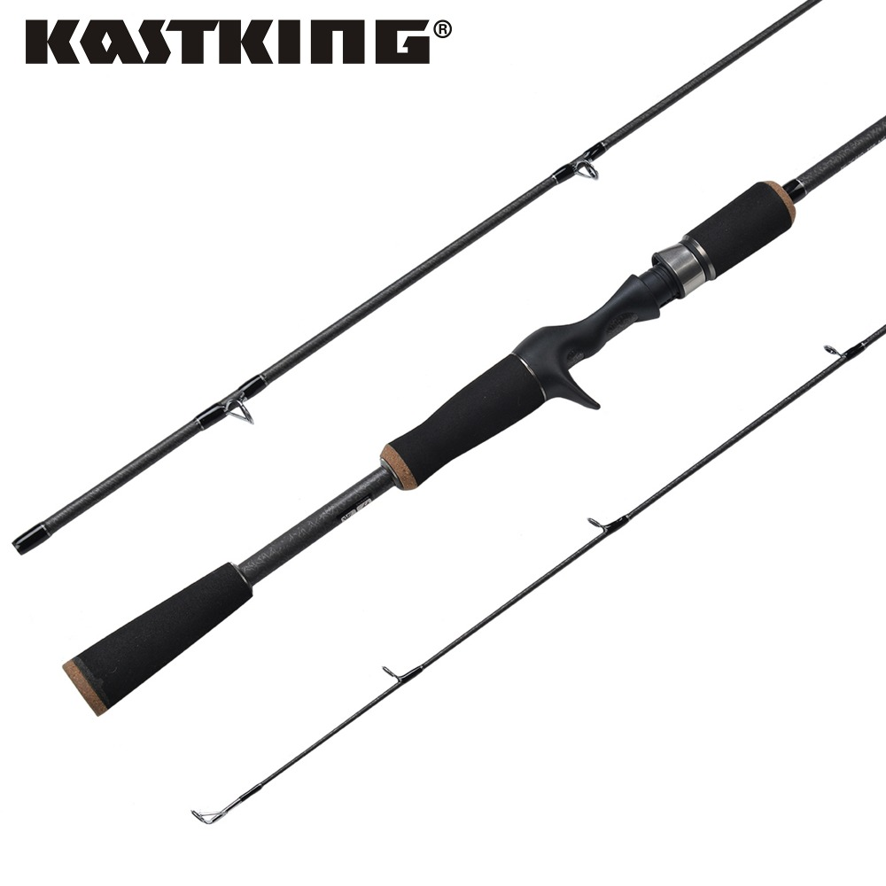 KastKing Super Light EVA split grips Lure Weight 7-14g Carbon Fiber Baitcasting Fishing Rod 1.98M&2.10M Spinning Fishing Rod