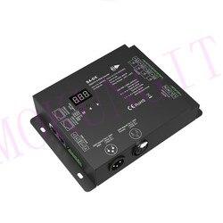 4CH * 2A 110-240VAC DMX Decoder S4-DX 4 Kanäle DMX Hohe Spannung Lampe Gürtel Decoder (Terminal, XLR3, RJ45 ausgang)