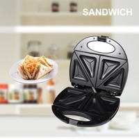 Stainless Steel Home Office Sandwich Maker Machine Toaster with Removable Non Stick Plate Electric Grill 750W EU Plug