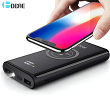 FDGAO Qi Wireless Charger 20000mAh Power Bank For iPhone XS Max XR X 8 Plus Samsung S9 S8 Xiaomi Mobile Phone Portable Powerbank(China)