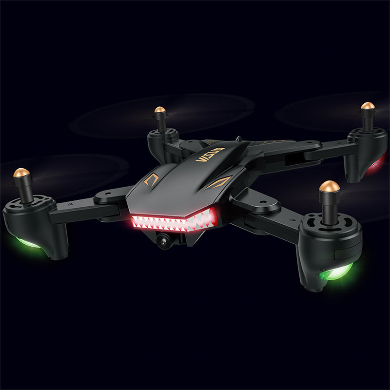 New Visuo XS809S Mini Foldable Selfie RC Drone Wifi FPV Camera 20 minutes of flight time RC Quadcopter XS809HW Upgraded Version image