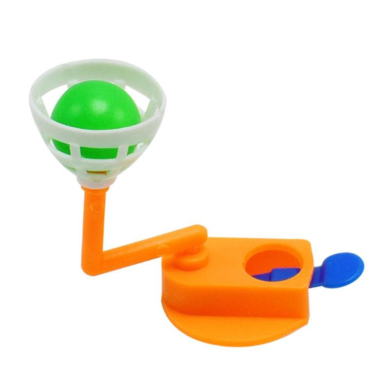 Mini Finger Shooting Assembly Toy DIY Basketball Shooting Machine Science Technology Educational Kid Toy Finger Color Random