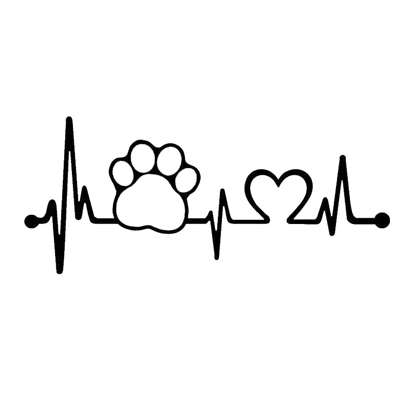 17 8 7 7cm Paw Heartbeat Lifeline Monitor Dog Cat Pet