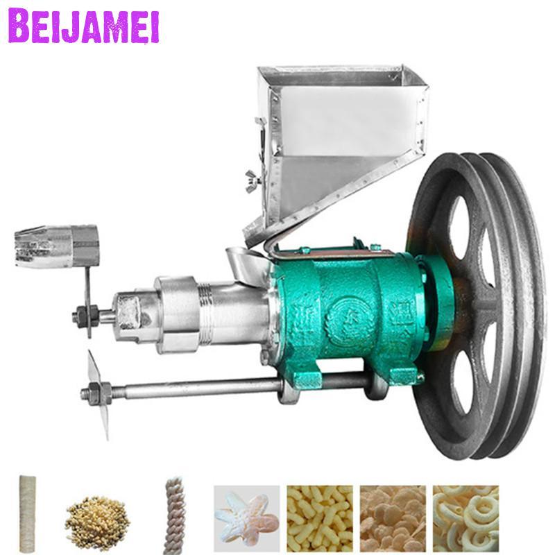 BEIJAMEI Small Business Use Mini Puffed Corn Rice Snacks Food Extruder Machines/rice Puff Snack Extruder Machine