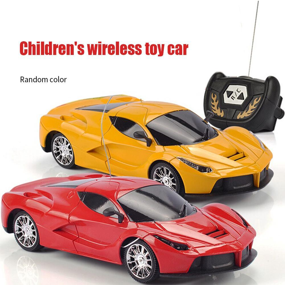 Automobile Model Radio Control 2 Channels Car Baby Toys 18cm Remote Control Car Children Outdoor Playing 1:24 Scale Super Car
