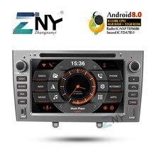 7 «IPS Android 9.0 voiture stéréo GPS pour Peugeot 308 408 Auto DVD Radio FM RDS Audio vidéo Headunit Navigation WiFi caméra de sauvegarde