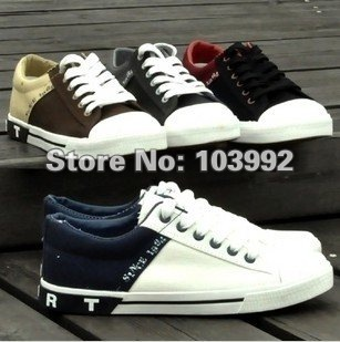 free shipping ! Hot sale New  men's shoes,men flats shoes ,fashion designing,canvas shoes, 4 colors