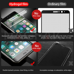 Image 2 - NAGFAK 0.15 มิลลิเมตร Hydrogel เมมเบรนฟิล์มสำหรับ iPhone 8 7 Plus 6 6 วินาที Plus X เครื่องมือป้องกันหน้าจอสำหรับ iPhoneX (แก้ว)