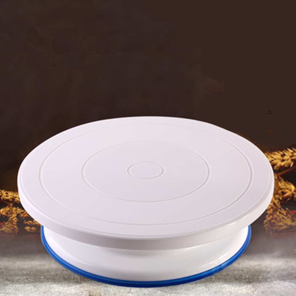 rotating store degrees sale online stand icing turntable cake plastic product kitchen anti clockwise white or hot decorating