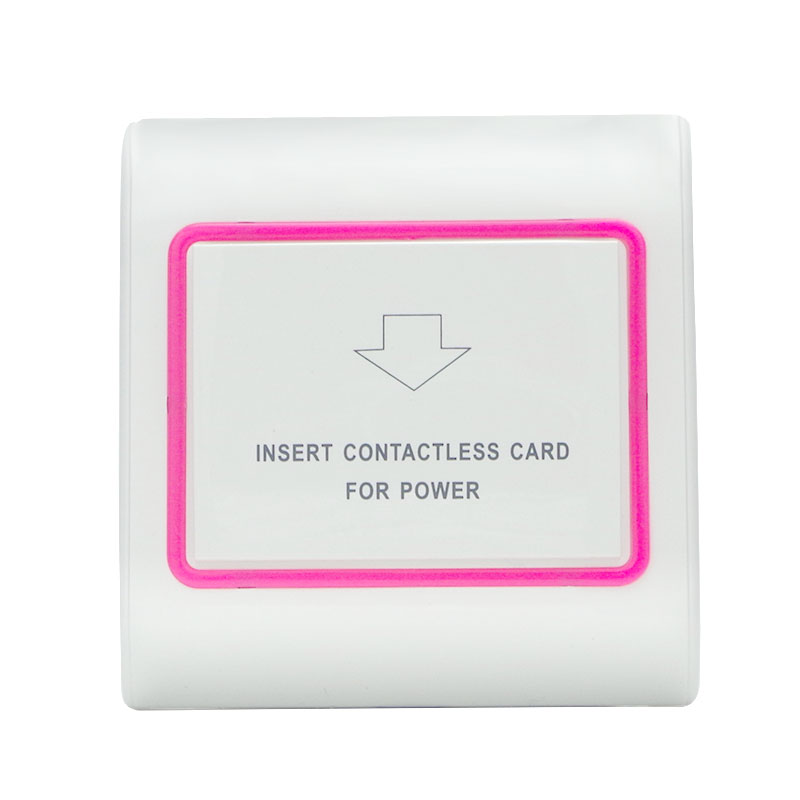 Access Control Access Control Accessories Silver Color Panel Hotel Card Switch Insert Promixity Keycard Rfid Card To Take Power 125khz T5577 T57 Type Chip Induction Sales Of Quality Assurance