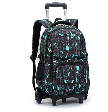 Children Trolley School Bag Kids Wheeled Backpacks Children Rolling Backpack Bags For Teenagers Travel luggage bags