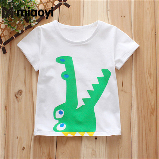 a663a562902a0 Children's baby clothes T-shirt Cotton Short-Sleeved Summer Children's  Clothing Girls Baby Boys White Half-Sleeved Child 0-4Y