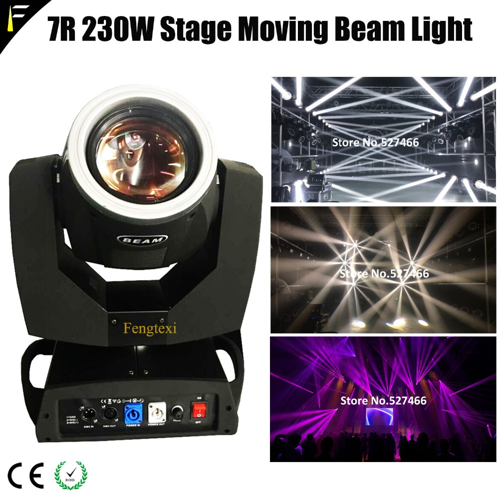 1 Piece Beam 7r 230 Lampspot 32 Rotation Prism 7R Sharpy Beam Light Mover Lighting For Night Club Disco with Touch Screen