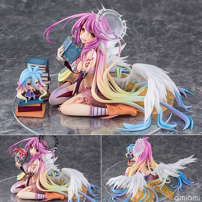NEW Hot 15cm NO GAME NO LIFE Flueqel Jibril Action Figure Toys Doll Collection Christmas Gift With Box