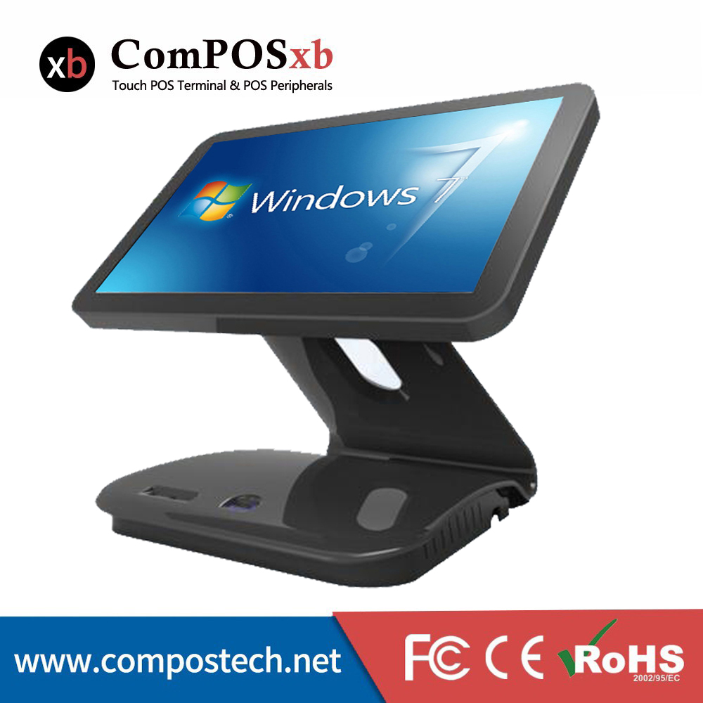 EPOS System 15.6 Inch Point Of Sale Capacitive All In One Pc Machine For Supermarket epos 3390 302 22 38 25