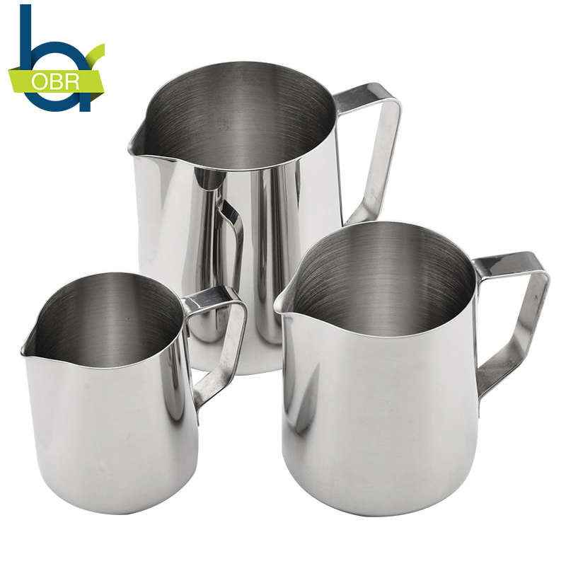 350ml/600ml/900ml Stainless Steel Milk Frothing Pitcher cappuccino milk jug Coffee Mug Cup Espresso Latte Foam Container