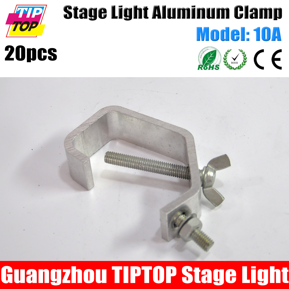 20 pack 10a 30 45mm truss pipe new g clamp stage lighting g clamp cheap lighting effects