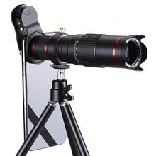 Универсальный сотовый телефон объектив камеры, 22 раза мобильный телефон телефото телескоп голова, для большинства смарт мобильный телефон