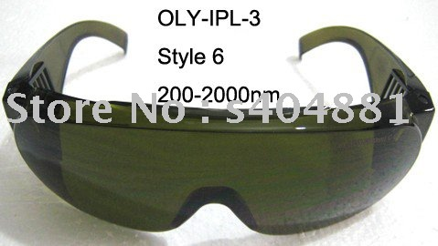 IPL safety goggles(200-2000nm. O.D  4+ CE ) maritime safety