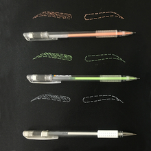 Microblading Accessories Tattoo Marker Pen Permanent Makeup Supplier White Color Surgical Eyebrow Skin Tools