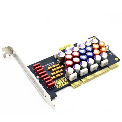 1PCS Elfidelity PC HI FI Power Filter card PCI PCI E HiFi PC audio power purific