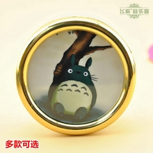 Totoro music box cartoon big white small totoro for new year wedding Christmas birthday gift home docoration free shipping