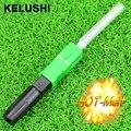 KELUSHI 10 unids SC/AP CFiber Óptica Tipo De Fibra Óptica Conector Rápido Conector de Fusión En Caliente de Fusión de fibra Óptica FTTH