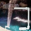 Регулируемый фонтан воды плавательный рыбный бассейн Birdbath насос для водопада Фонтан сад бассейн Пруд Открытый украшение дома